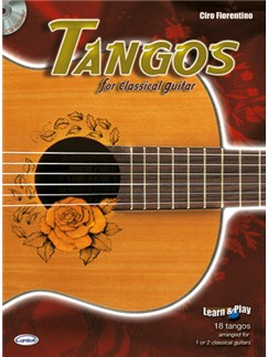 Tangos for Classical Guitar Books and CDs | Guitar
