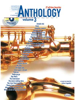 Anthology (Alto Sax & Eb Instrum.), Volume 3 Books and CDs | Saxophone