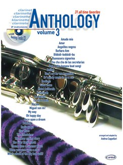 Anthology (Clarinet & Bb Instruments), Volume 3 Books and CDs | Clarinet