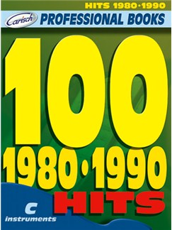 100 Hits 1980-1990 Buch | Instrumente in C