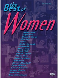 The Best of Women Books | Piano, Vocal & Guitar