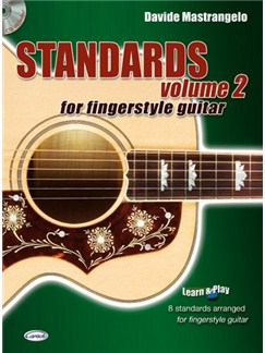 Standards for Fingerstyle Guitar, Volume 2 Books and CDs | Guitar