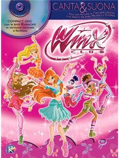 Winx Club: Canta & Suona Books and CDs | Melody Line, Lyrics & Chords