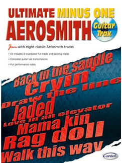 Aerosmith: Ultimate Minus One Books and CDs | Guitar Tab