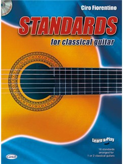 Standards for Classical Guitar Books and CDs | Guitar
