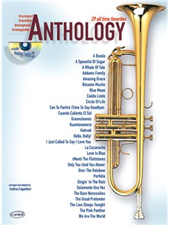 Anthology (Trumpet), Volume 1 Books and CDs | Trumpet
