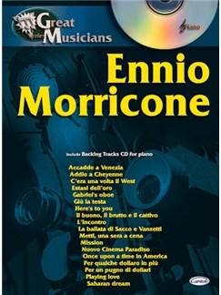 Ennio Morricone: Great Musicians Series CD et Livre | Piano