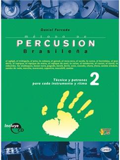 Método de Percusión Brasileña CD y Libro | Drums