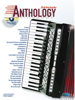 Anthology (Accordion), Volume 1 Books and CDs | Accordion