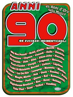 Anni 90, 69 Successi Indimenticabili Books | Guitar