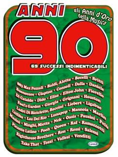 Anni 90, 69 Successi Indimenticabili Libro | Guitarra