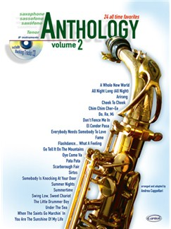 Anthology (Tenor Sax), Volume 2 Books and CDs | Tenor Saxophone