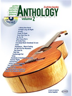 Anthology (Guitar), Volume 2 Books and CDs | Guitar