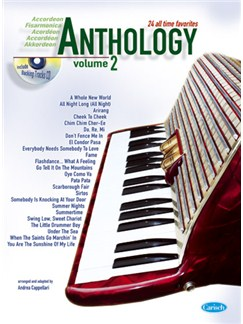 Anthology (Accordion), Volume 2 Bog og CD | Accordeon