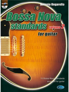Bossa Nova Standards for Guitar, Volume 2 Books and CDs | Guitar
