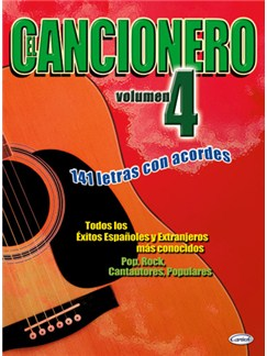 El Cancionero, Volumen 4 Books | Lyrics & Chords