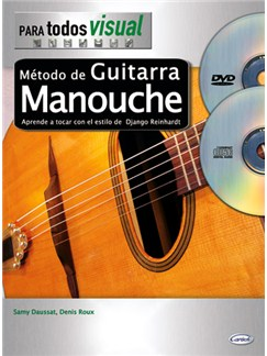 Método de Guitarra Manouche CD, DVDs / Videos y Libro | Guitar