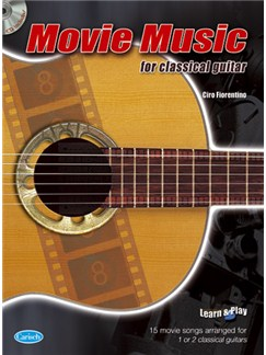 Movie Music for Classical Guitar Books and CDs | Guitar