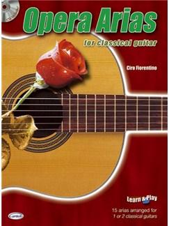 Opera Arias for Classical Guitar Bog og CD | Guitar
