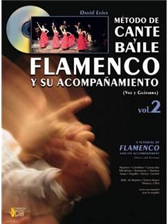Método de Cante y Baile Flamenco y su Acompañamiento, Vol.2 (Voice & Guitar) Books and CDs | Guitar, Guitar Tab, Voice