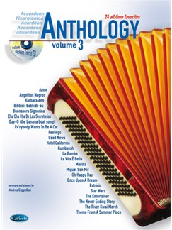 Anthology (Accordion), Volume 3 Books and CDs | Accordion
