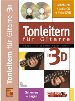 Tonleiten fur Guitarre in 3D Books, CDs and DVDs / Videos | Guitar