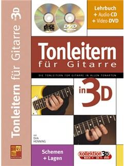 Tonleiten fur Guitarre in 3D Buch, CD und DVDs / Videos | Guitar