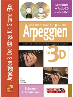 Arpeggien & Dreiklänge für Gitarre in 3D Books, CDs and DVDs / Videos | Guitar