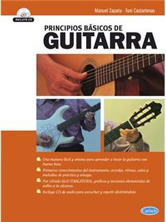 Principios Básicos De Guitarra Books and CDs | Guitar
