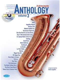 Anthology (Tenor Sax), Volume 3 CD et Livre | Saxophone Tenor