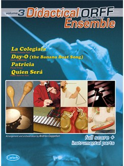 Didactical Ensemble Orff, Volume 3 Books | Ensemble