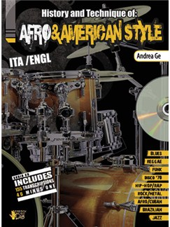 Andrea Ge: Afro & American Style (Book/CD) Books and CDs | Drums