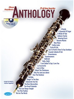 Anthology (Oboe), Volume 1 Books and CDs | Oboe
