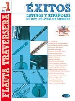 Éxitos Latinos y Españoles de Hoy, de Ayer, de Siempre (Flauta) CD y Libro | Flute