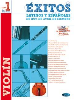 Éxitos Latinos y Españoles de Hoy, de Ayer, de Siempre (Violín) Books and CDs | Violin