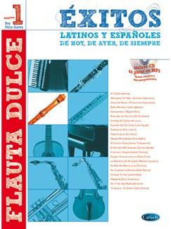 Éxitos Latinos y Españoles de Hoy, de Ayer, de Siempre CD y Libro | Recorder