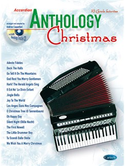 Anthology Christmas (Accordion) Books and CDs | Accordion
