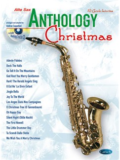 Anthology Christmas (Alto Sax) Books and CDs | Alto Saxophone