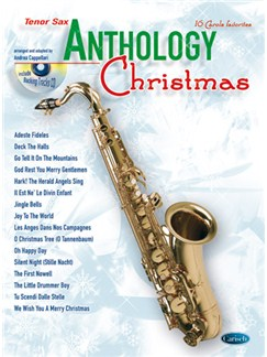 Anthology Christmas (Saxophone) Books and CDs | Saxophone