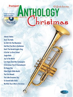 Anthology Christmas (Trumpet) CD et Livre | Trompette