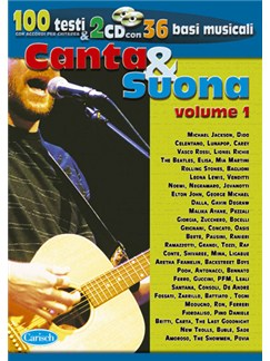 Canzoniere Canta & Suona, Vol.1 -  Le Più Belle Canzoni Books and CDs | Lyrics & Chords