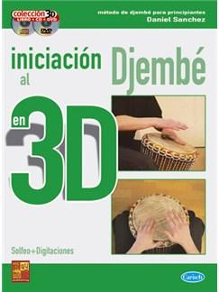 Iniciación al Djembé en 3D CD, DVDs / Videos y Libro | Drums