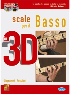 Scale per il Basso in 3D Books, CDs and DVDs / Videos | Bass Guitar