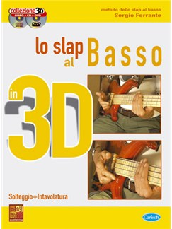 Lo Slap al Basso in 3D Books, CDs and DVDs / Videos | Bass Guitar