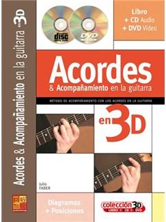 Acordes & Acompañamiento en la Guitarra en 3D CD, DVDs / Videos y Libro | Guitar