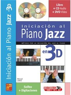 Iniciación al Piano Jazz en 3D CD, DVDs / Videos y Libro | Piano