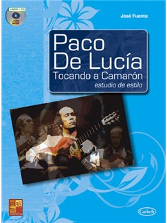Paco de Lucía Tocando a Camarón: Estudio de estilo CD y Libro | Guitar