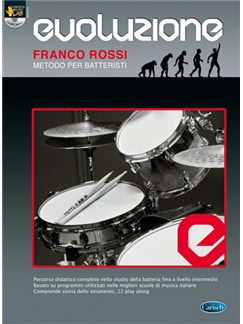 Evoluzione - Metodo Per Batteristi Books and CDs | Drums