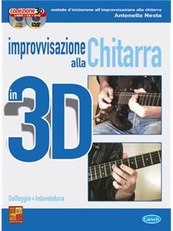Improvvisazione alla Chitarra in 3D Books, CDs and DVDs / Videos | Guitar