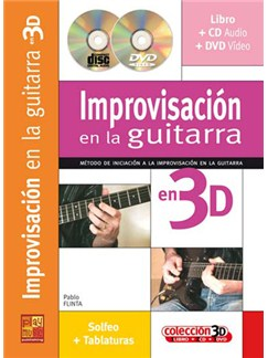 Improvisación en la Guitarra en 3D CD, DVDs / Videos y Libro | Guitar